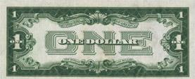 $1 silver certificate, series 1928